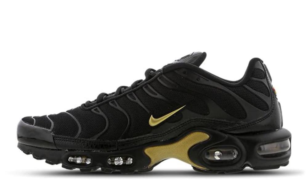 Nike TN Air Max Plus Black Gold 852630-022
