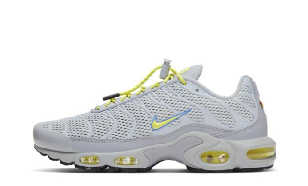 Nike TN Air Max Plus White Yellow CQ6359-001
