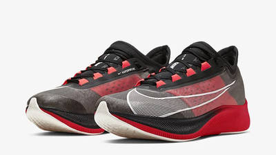 Nike Zoom Fly 3 Black Red CT1514-001 front