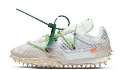 Off-White x Nike Waffle Racer White Green CD8180-100