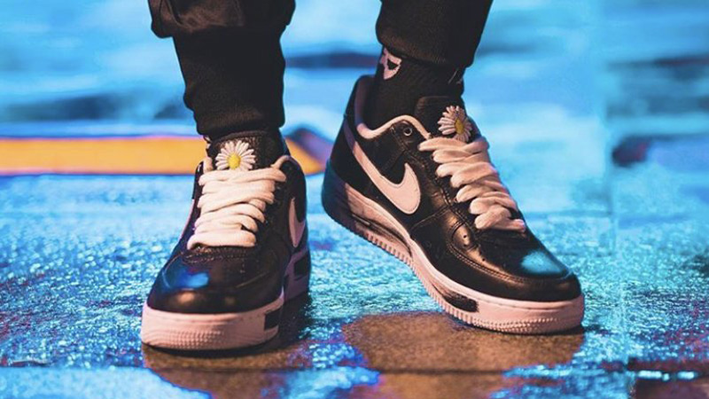 G Dragon x Nike Air Force 1 Low Para Noise