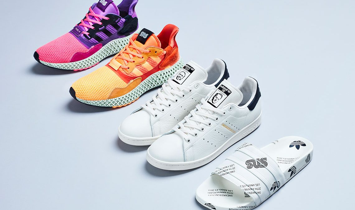 Sneakersnstuff X adidas Collection
