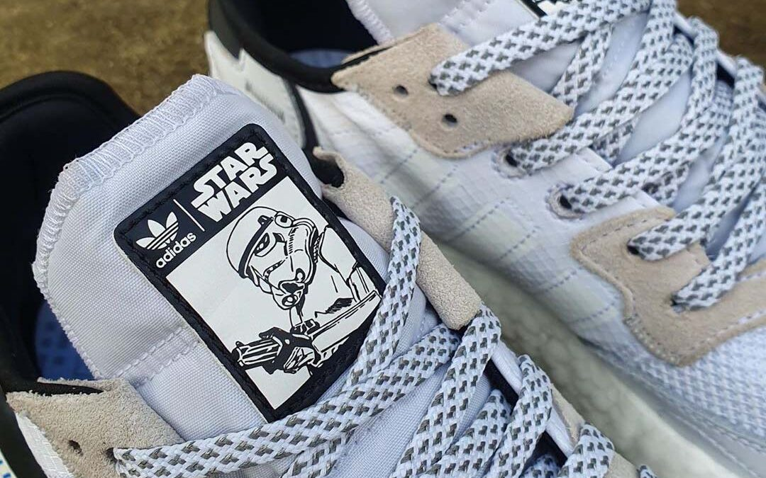 First Look At The Star Wars x adidas Nite Jogger 'Stormtrooper'