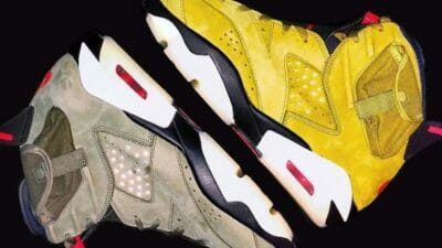 Stock Numbers Just Leaked For The Travis Scott x Air Jordan 6 'Yellow'