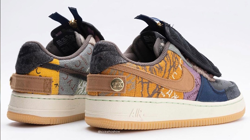 undefeated x 2018 sneakers skate shoes Travis Scott x Nike Air Force 1 Low Cactus Jack - Where To Buy ...