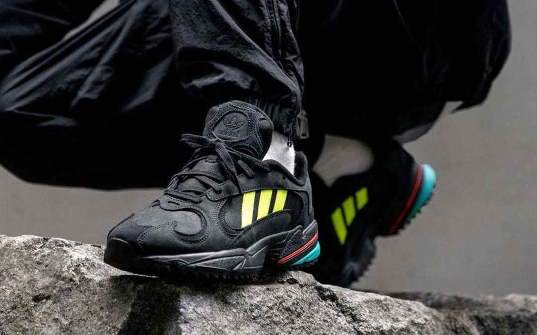 adidas Gets Rugged With The Yung 1 Trail 'Core Black' | The