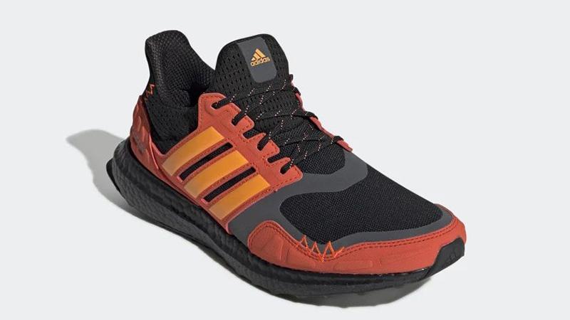 adidas Ultra Boost S&L Black Orange FV7283 front