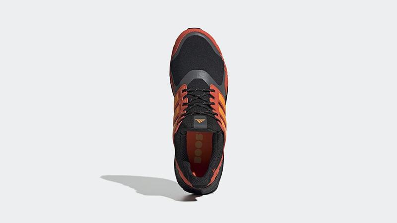 adidas Ultra Boost S&L Black Orange FV7283 middle