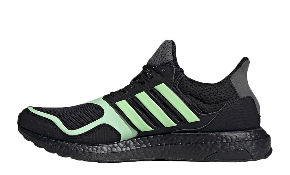 adidas ultraboost black green