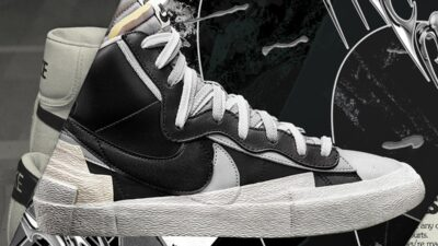 Here's When You Can Cop The sacai x Nike Blazer Mid 'Black' & 'White'