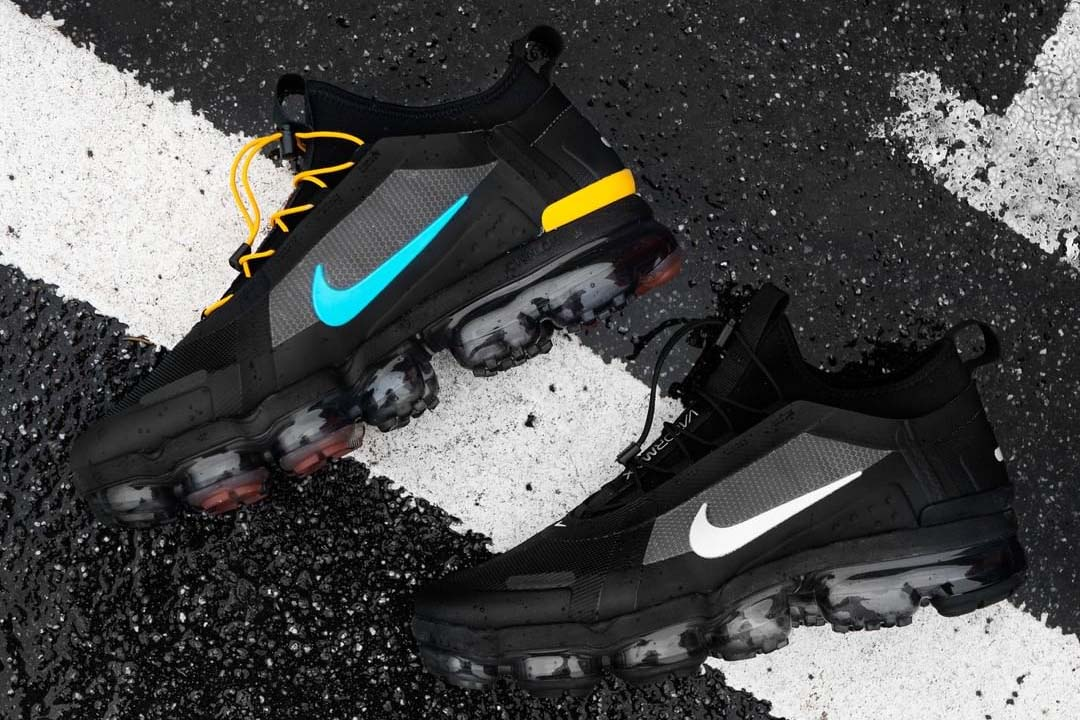 The Nike Air VaporMax 2019 Utility 'Off Noir' Is Rugged And ...