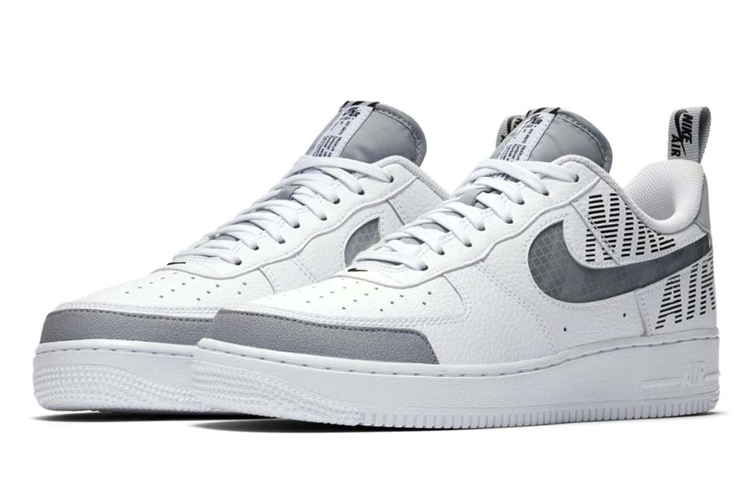The Nike Air Force 1 'Under Construction' Is A Deconstructed Essential