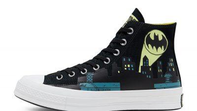 Batman x Chinatown Market x Converse Chuck 70 High Top Black 167511C