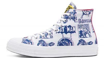 Batman x Chinatown Market x Converse Chuck 70 High Top White 167512C