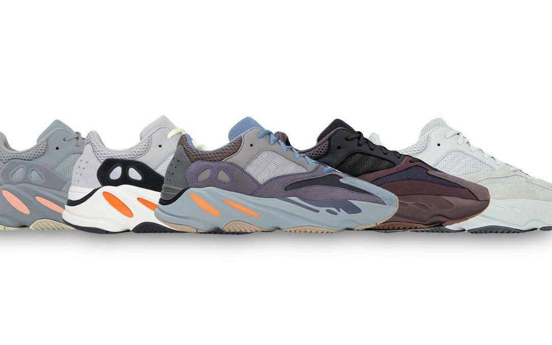 "The Yeezy 700 ""Carbon Blue"" Combines Four Colourways Into One"
