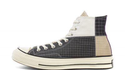 Converse All Star Hi 70 Black Egret 166316C front