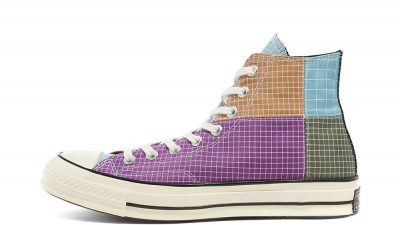 Converse All Star Hi 70 Dewberry Iced Coffee 166317C front