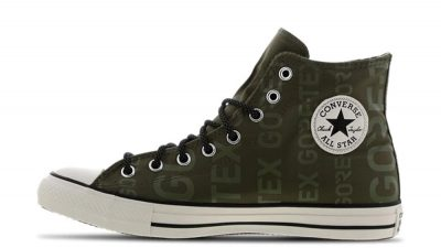 Converse Chuck Taylor All Star Gore-Tex Green White 166604C front