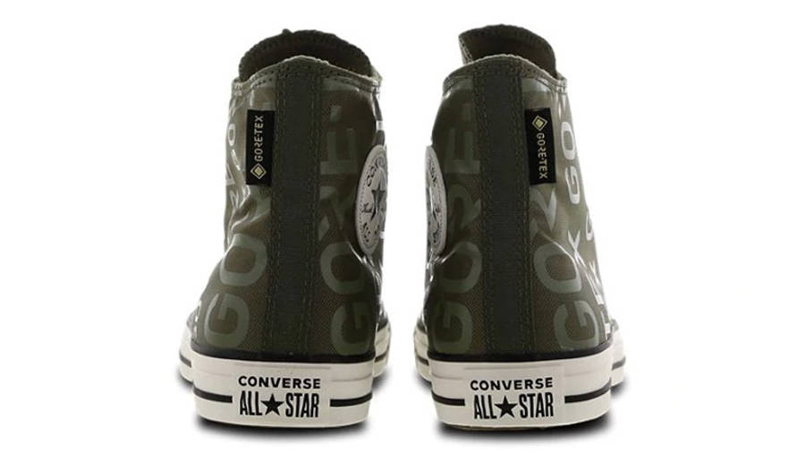 Converse Chuck Taylor All Star Gore-Tex Green White 166604C back