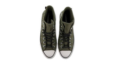 Converse Chuck Taylor All Star Gore-Tex Green White 166604C middle