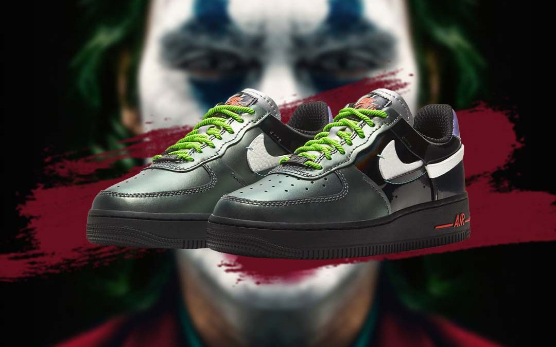 Joker Vibes Feature On The Nike Air Force 1 'Vandalized