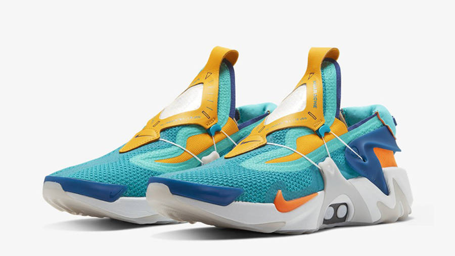 Nike Adapt Huarache Jade Orange   Where