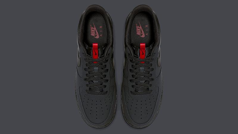 zapatos clasicos descuento hasta 60% en pies tiros de Nike Air Force 1 Grey Red - Where To Buy - BQ4326-001 | The Sole Supplier