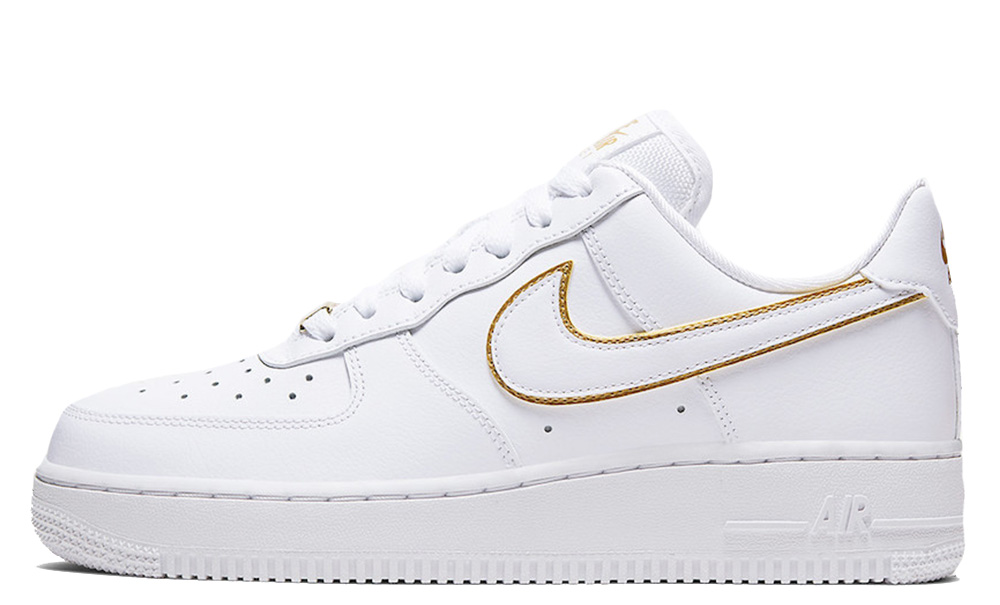 Nike Air Force 1 Low Gold Swoosh Pack White AO2132-102