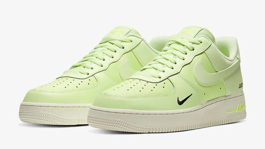 Nike Air Force 1 Low Just Do It Neon