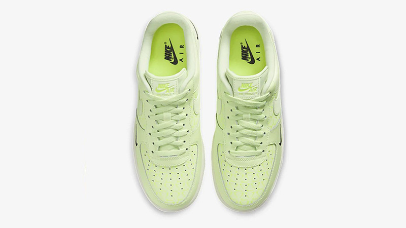 Nike Air Force 1 Low Neon Yellow CT2541 700 Release Date SBD