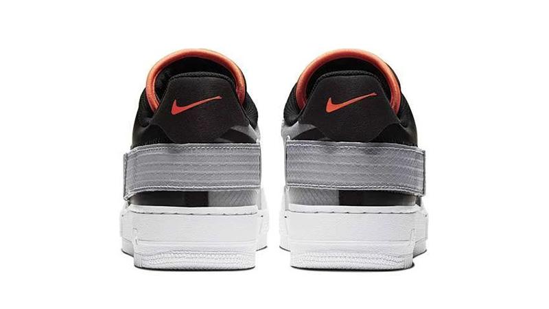 Nike Air Force 1 Type Black Hyper Crimson