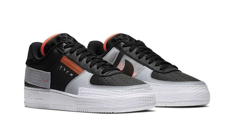 Nike Air Force 1 Low Type Black Raffles | The Sole Supplier