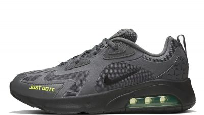 Nike Air Max 200 Grey Volt CT2539-001 front