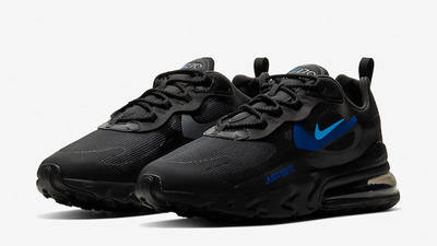 Nike Air Max 270 React Just Do It Black CT2203-001 front