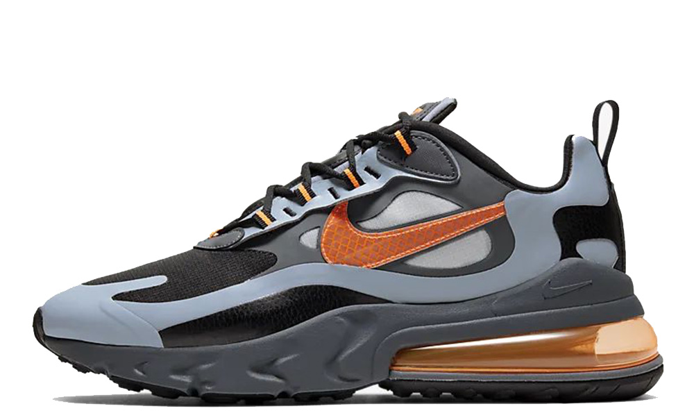 Nike Air Max 270 React Winter Grey Orange CD2049-006