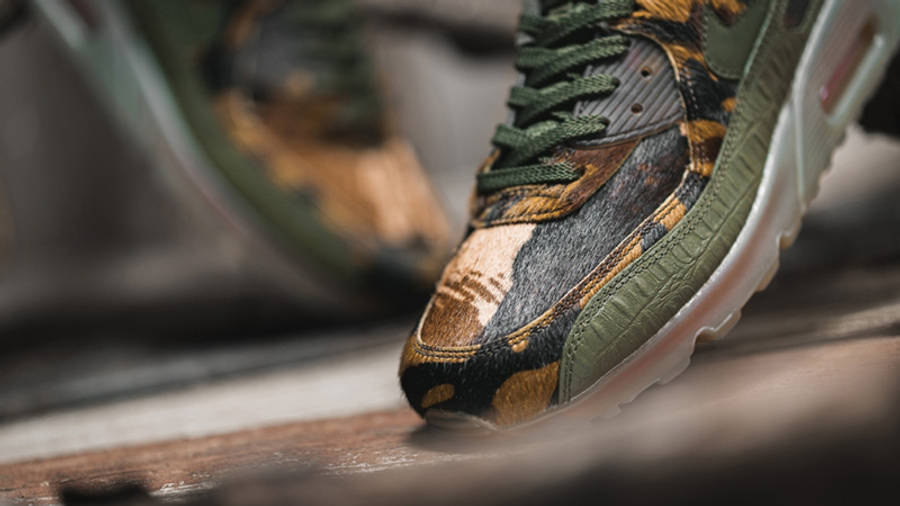 Nike Air Max 90 Croc Camo | Where To Buy | CU0675-300 | The Sole ...