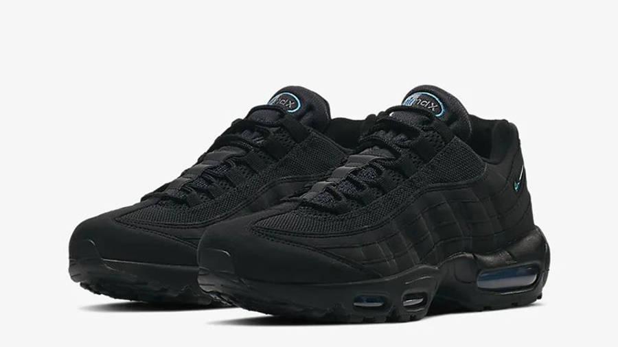 Nike Air Max 95 Black Imperial Blue