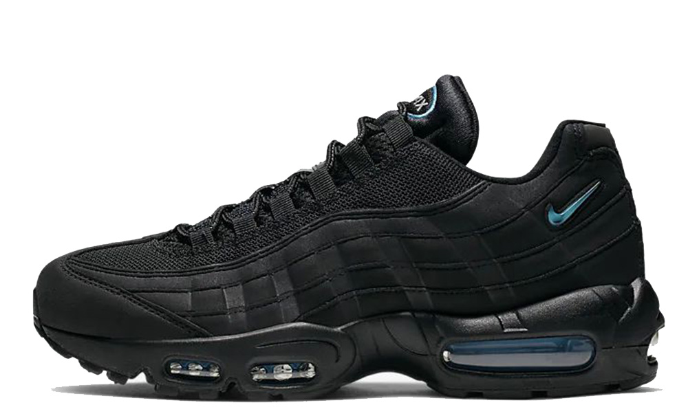 Nike Air Max 95 Black Imperial Blue CJ7553-001