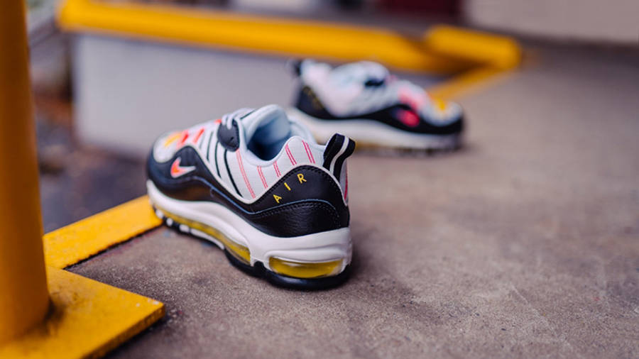 Nike Air Max 98 Crimson Yellow 640744-016 lifestyle back
