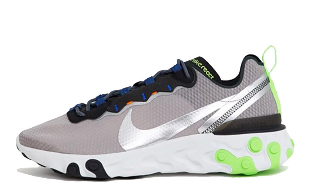 Nike React Element 55 Grey Volt CI3831-200
