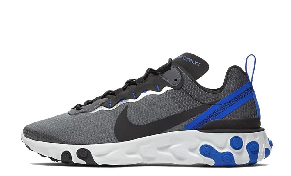 Nike React Element 55 SE Black Blue CI3831-003