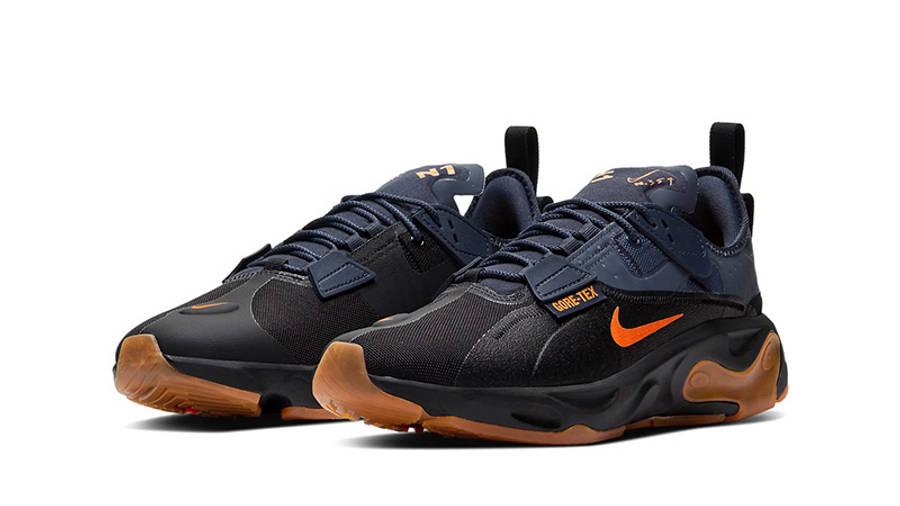 Nike React Type GTX Black Ceramic BQ4737-001 front