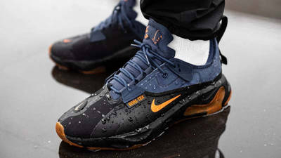 Nike React Type GTX Black Ceramic On Foot Front