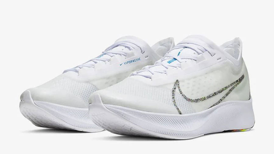 Nike Zoom Fly 3 White BV7778-100 front