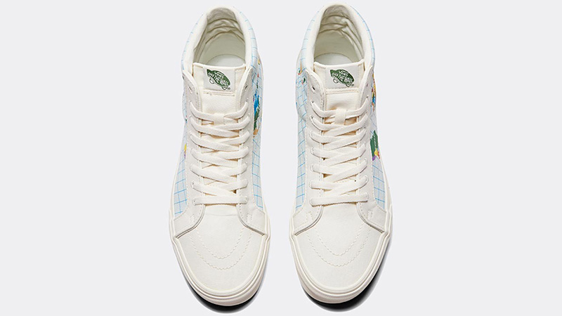 Save Our Planet X Vans SK8-Hi White Multi middle