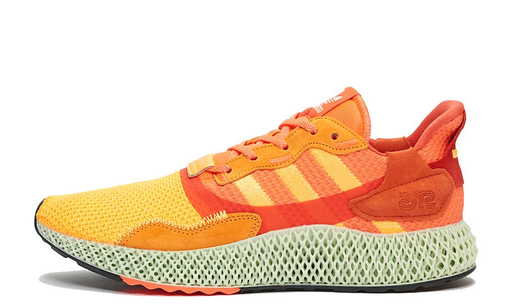 Sneakersnstuff x adidas ZX 4000 4D Sunrise FV5524