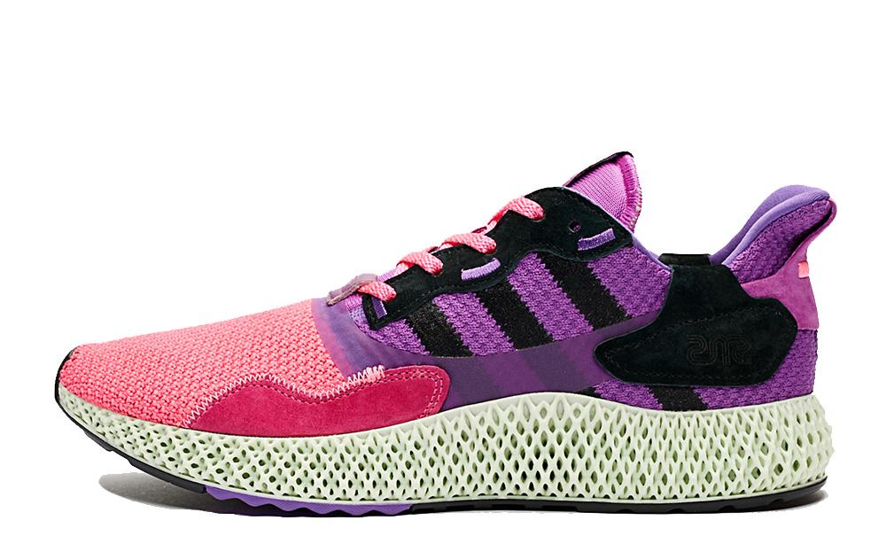 Sneakersnstuff x adidas ZX 4000 4D Sunset FV5525
