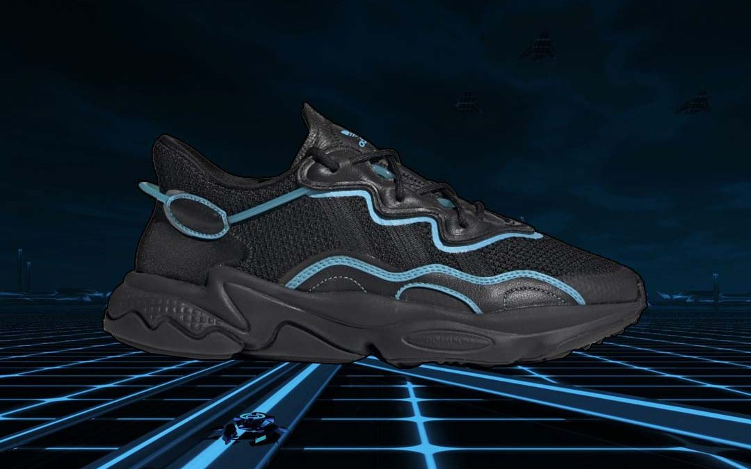 TRON Vibes Feature On The adidas Ozweego 'Bright Cyan'   The Sole ...