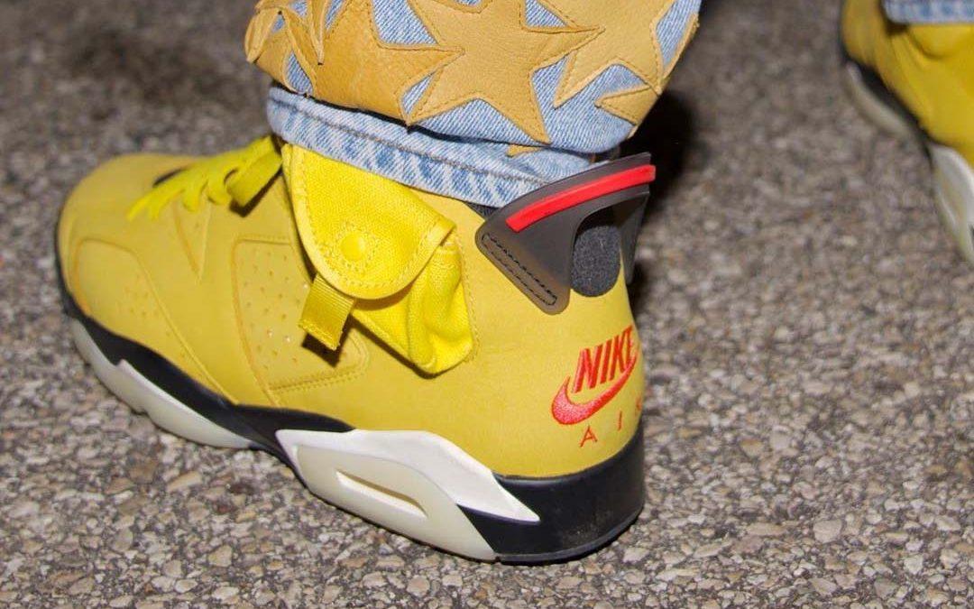 Travis Scott x Air Jordan 6 'Yellow Cactus Jack'