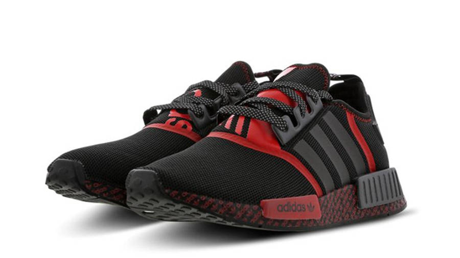 adidas NMD R1 Black Lush Red | Where To Buy | FV8516 | The Sole ...